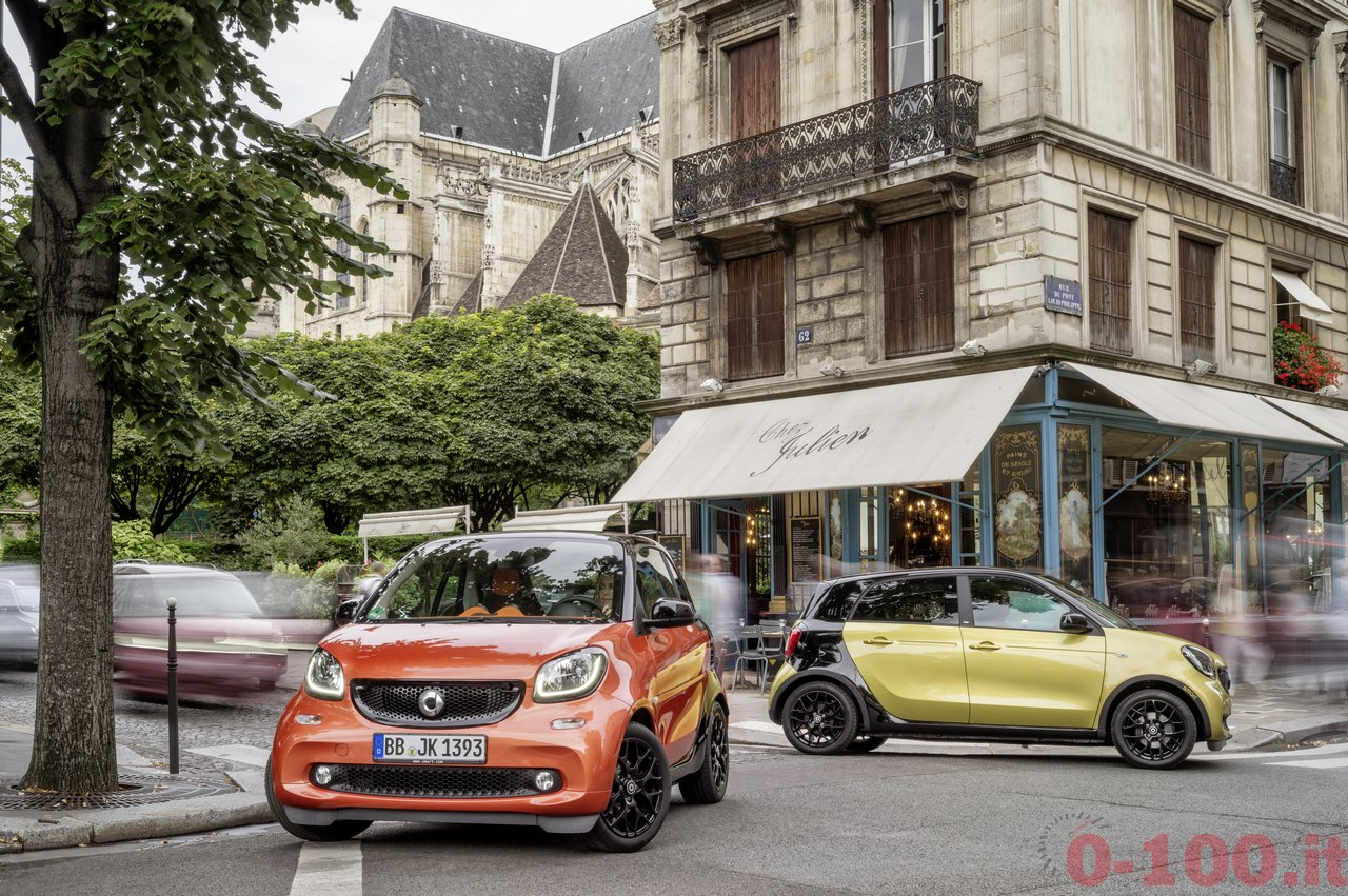 Der neue smart fortwo & forfour 2014, ParisThe new smart fortwo