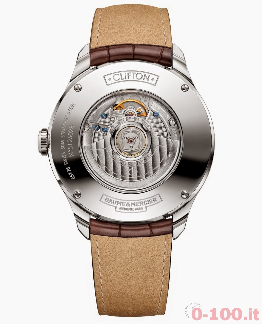 Baume & Mercier - Clifton Automatic Big Date and Power Reserve 3