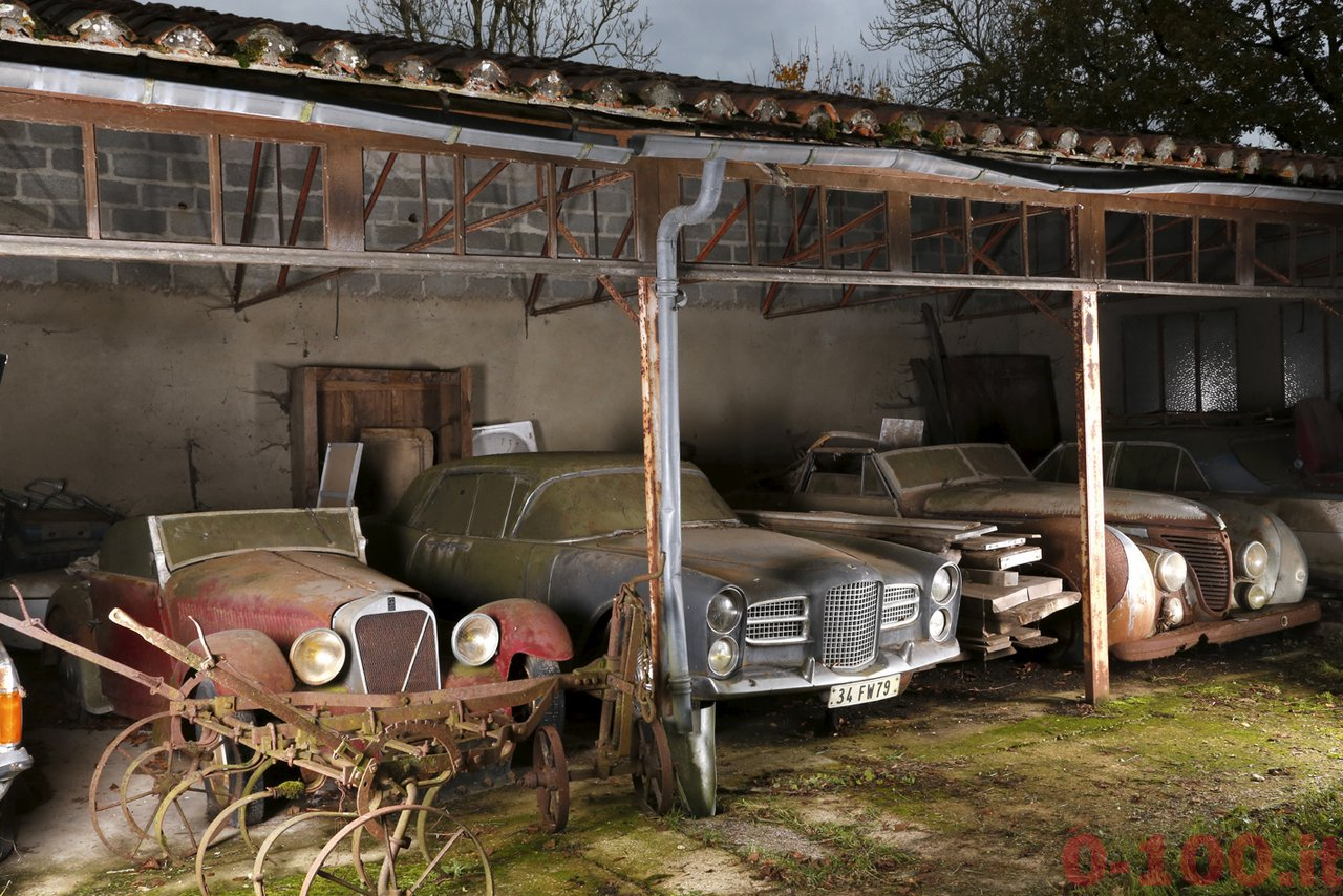 Facel-Vega-Excellence-et-Talbot-Lago-T26-cabriolet-Saoutchik-Roi-Farouk-Collection-Baillon