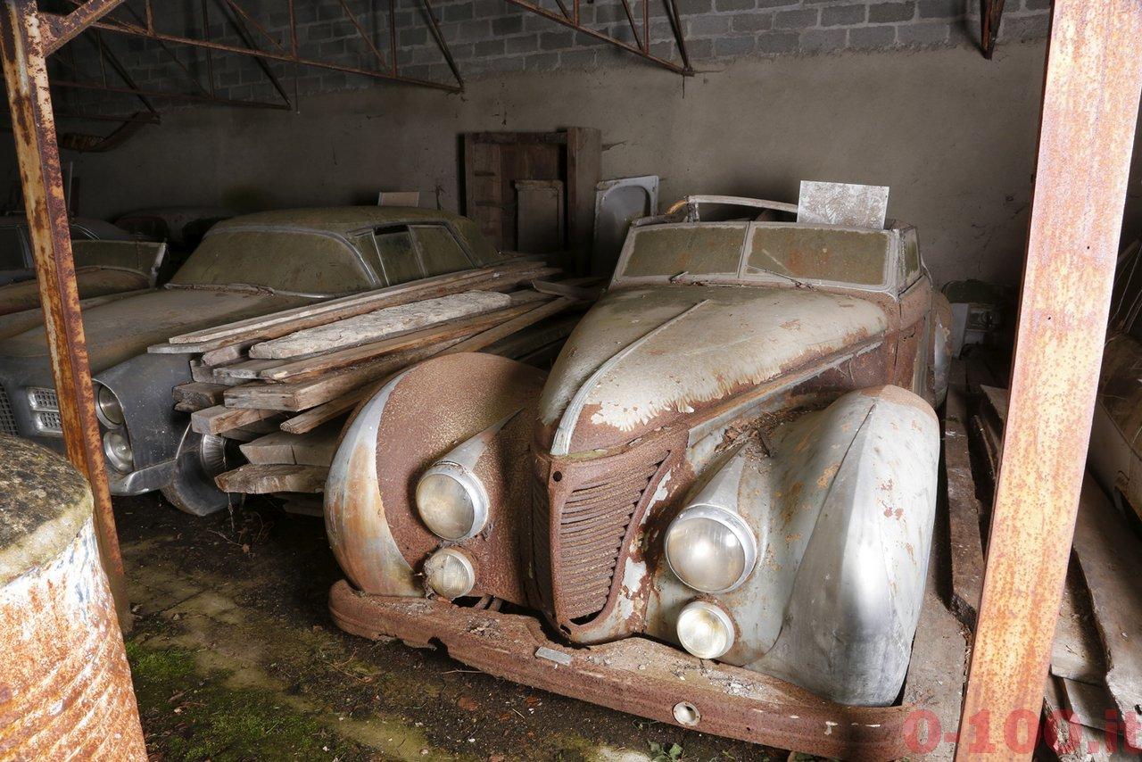 Talbot Lago T26 cabriolet Saoutchik ex-Roi Farouk, Collection Baillon --® Artcurial