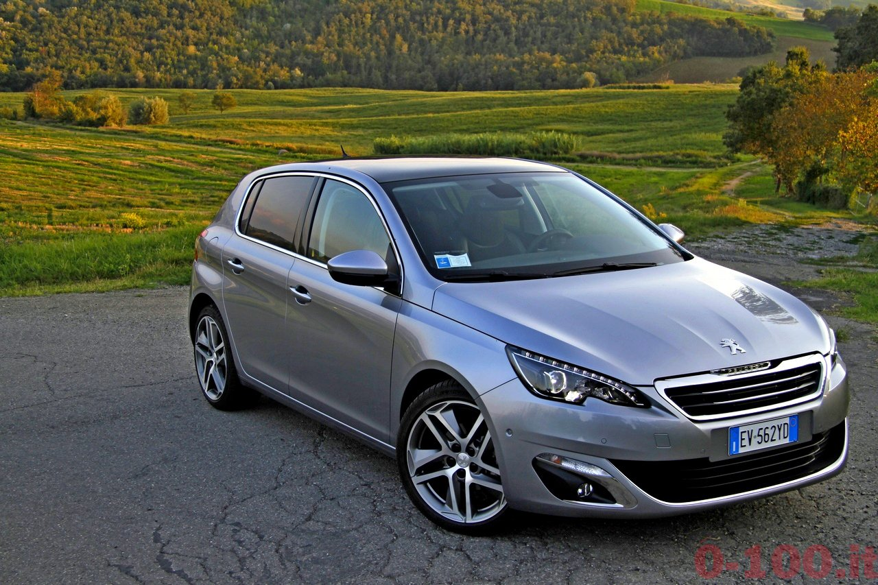 test drive peugeot 308 1 2 e thp 130 cv allure 0. Black Bedroom Furniture Sets. Home Design Ideas