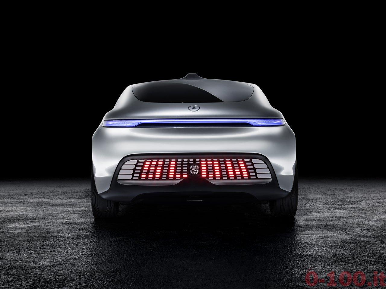 Mercedes-Benz F015 - Luxury in Motion