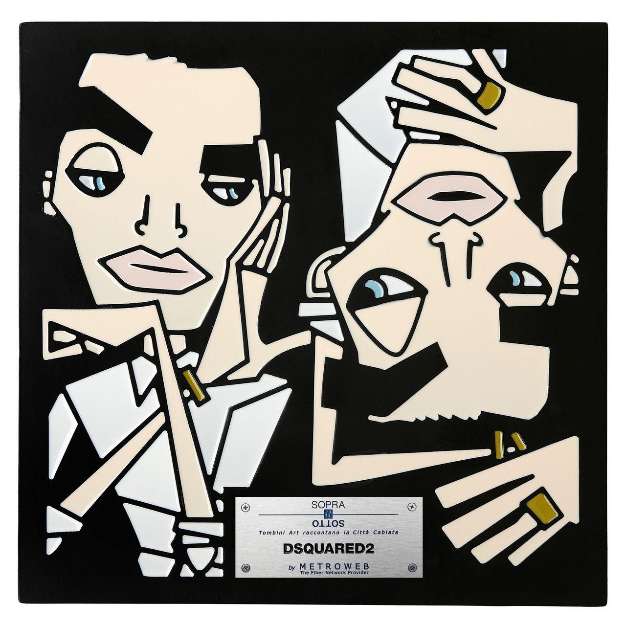 tombino art DSquared2, ph Sergio Caminata