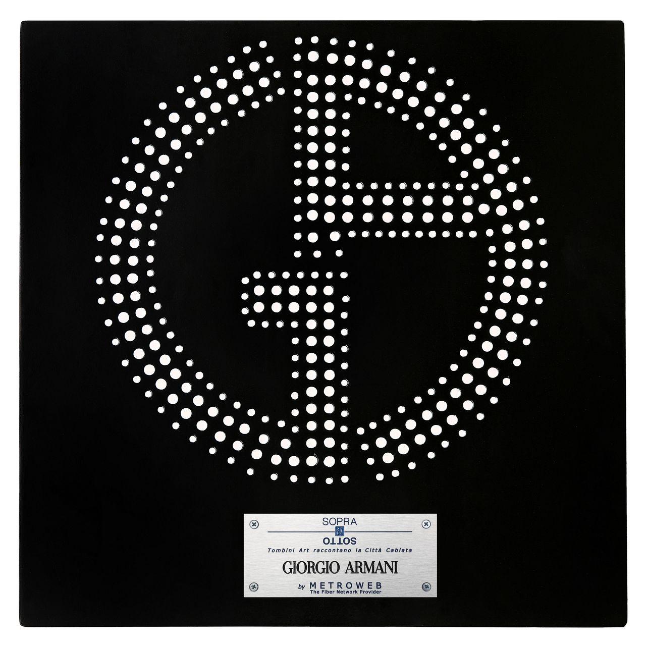 tombino art Giorgio Armani, ph Sergio Caminata