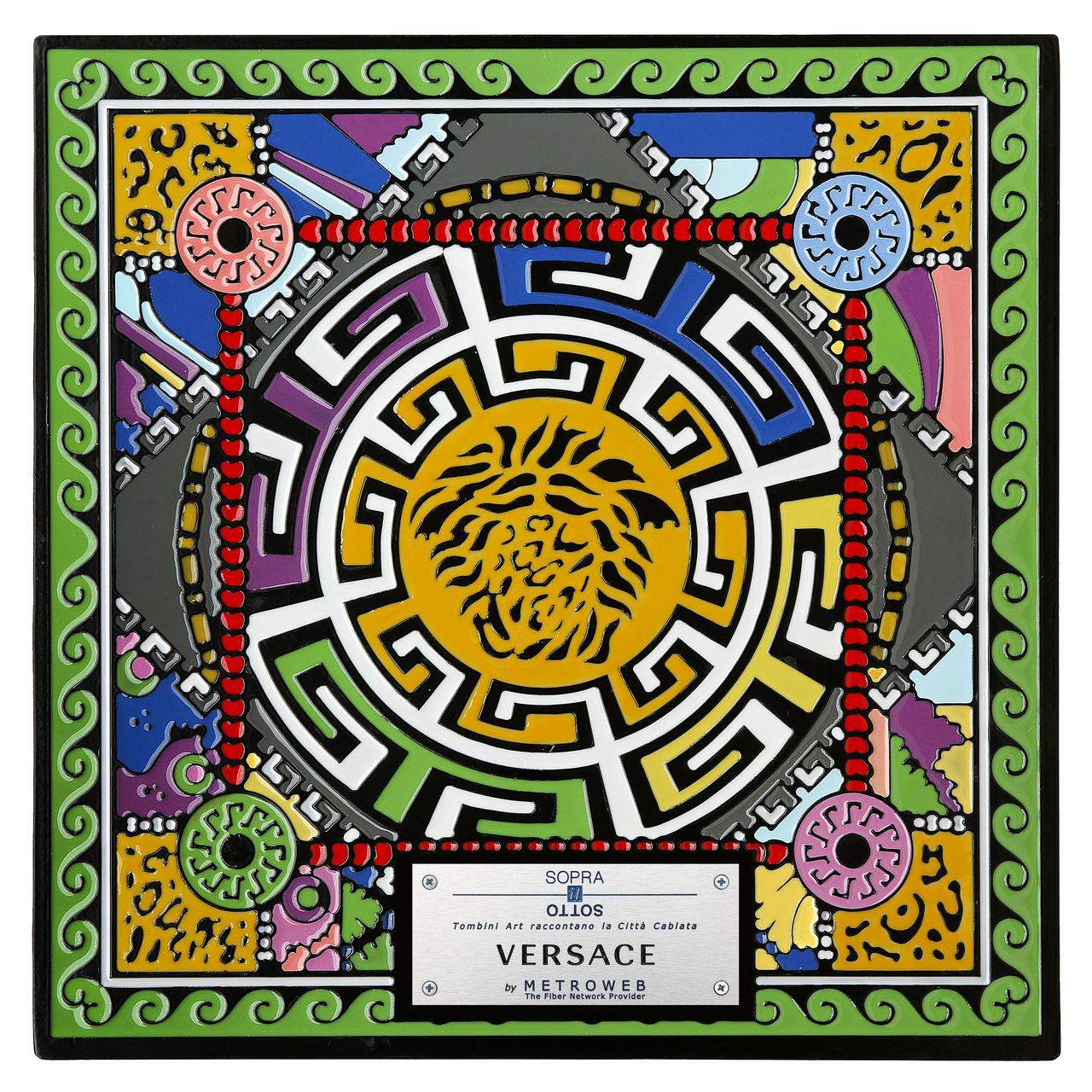 tombino art Versace, ph Sergio Caminata