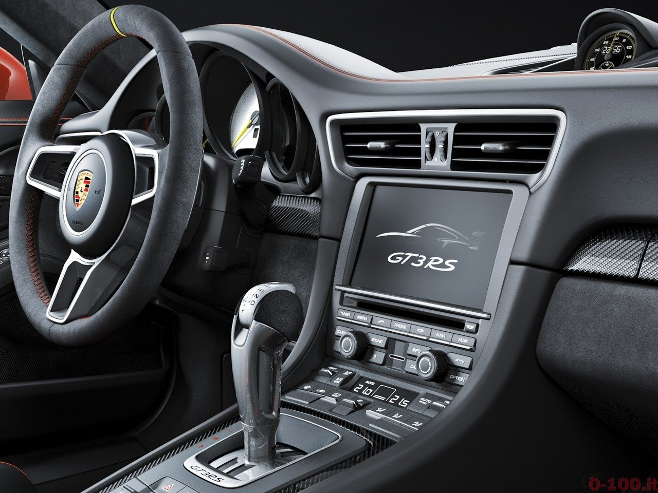 Interieur 911 GT3 RS