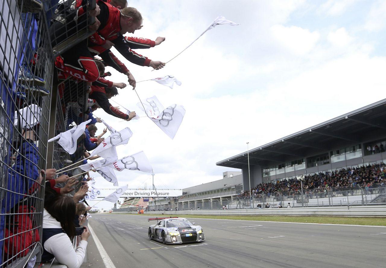 Neuer Audi R8 LMS gewinnt die 24 Stunden auf dem Nuerburgring