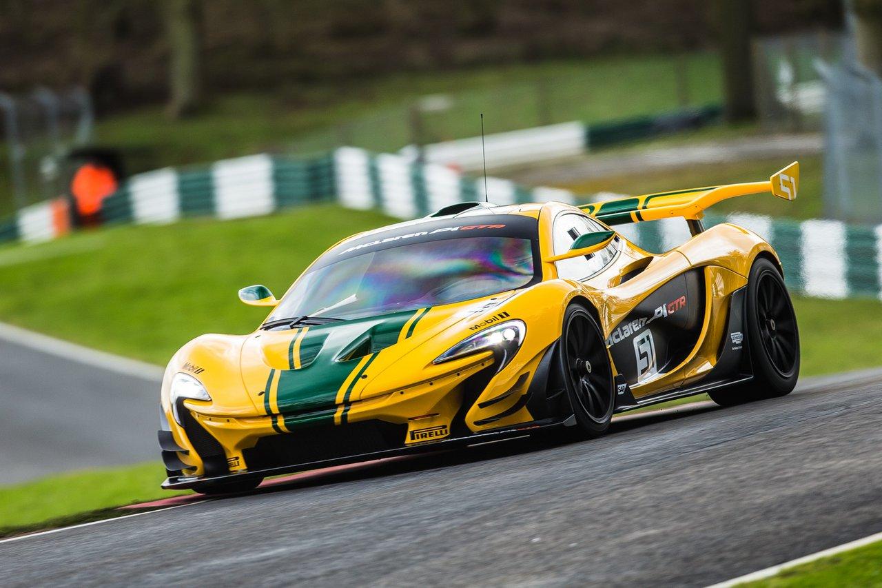McLaren F1 GTR and P1 GTR
