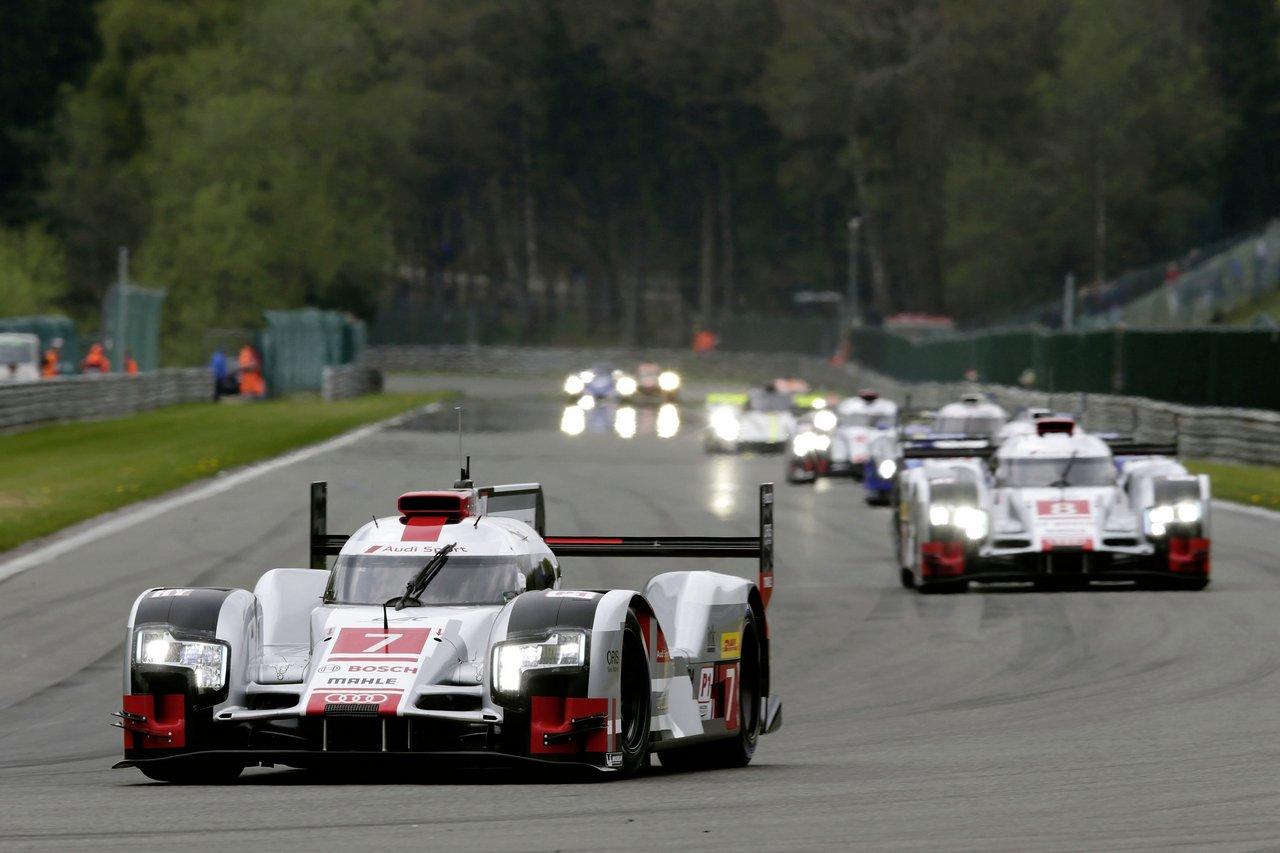 Audi feiert in Spa zweiten WEC-Saisonsieg