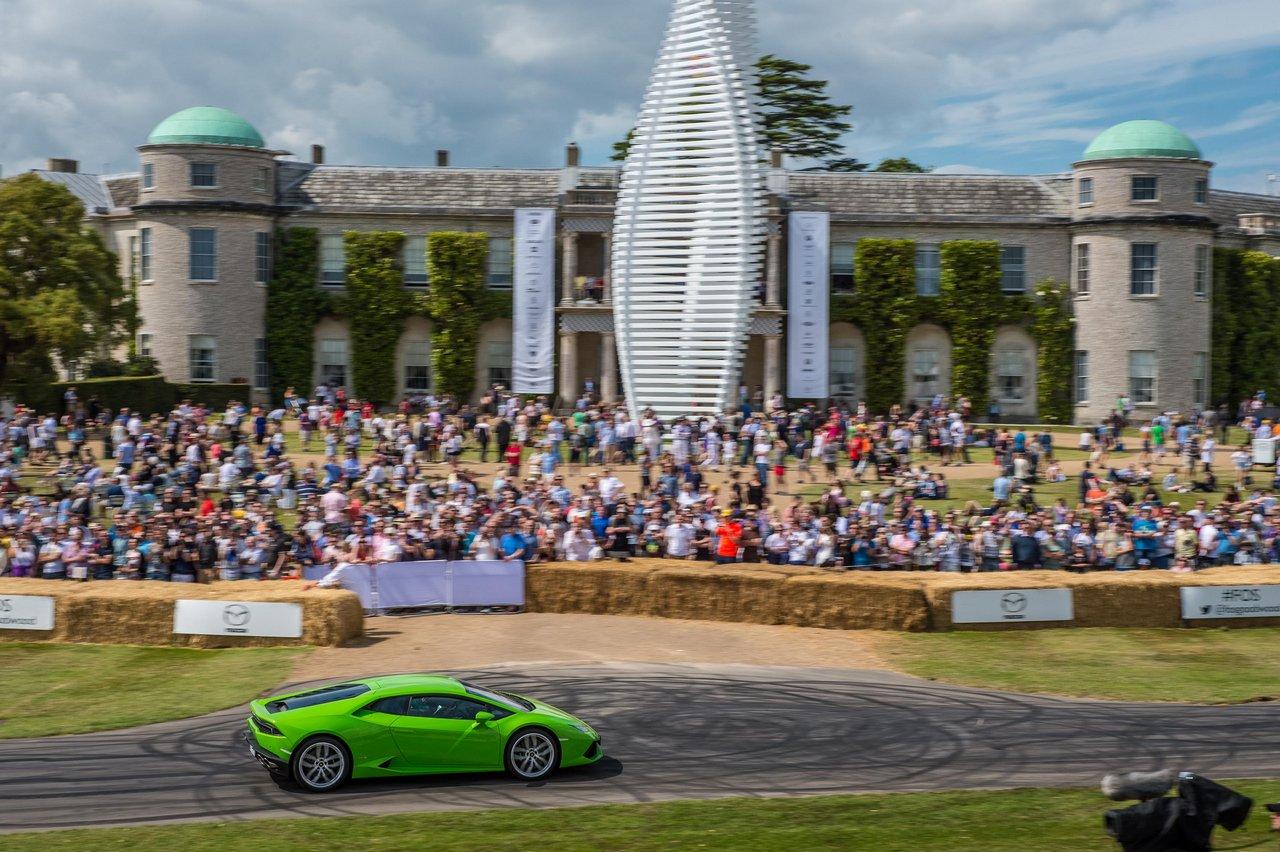 Lamborghini Huracán LP 610-4 at Goodwood Festival of Speed 2015