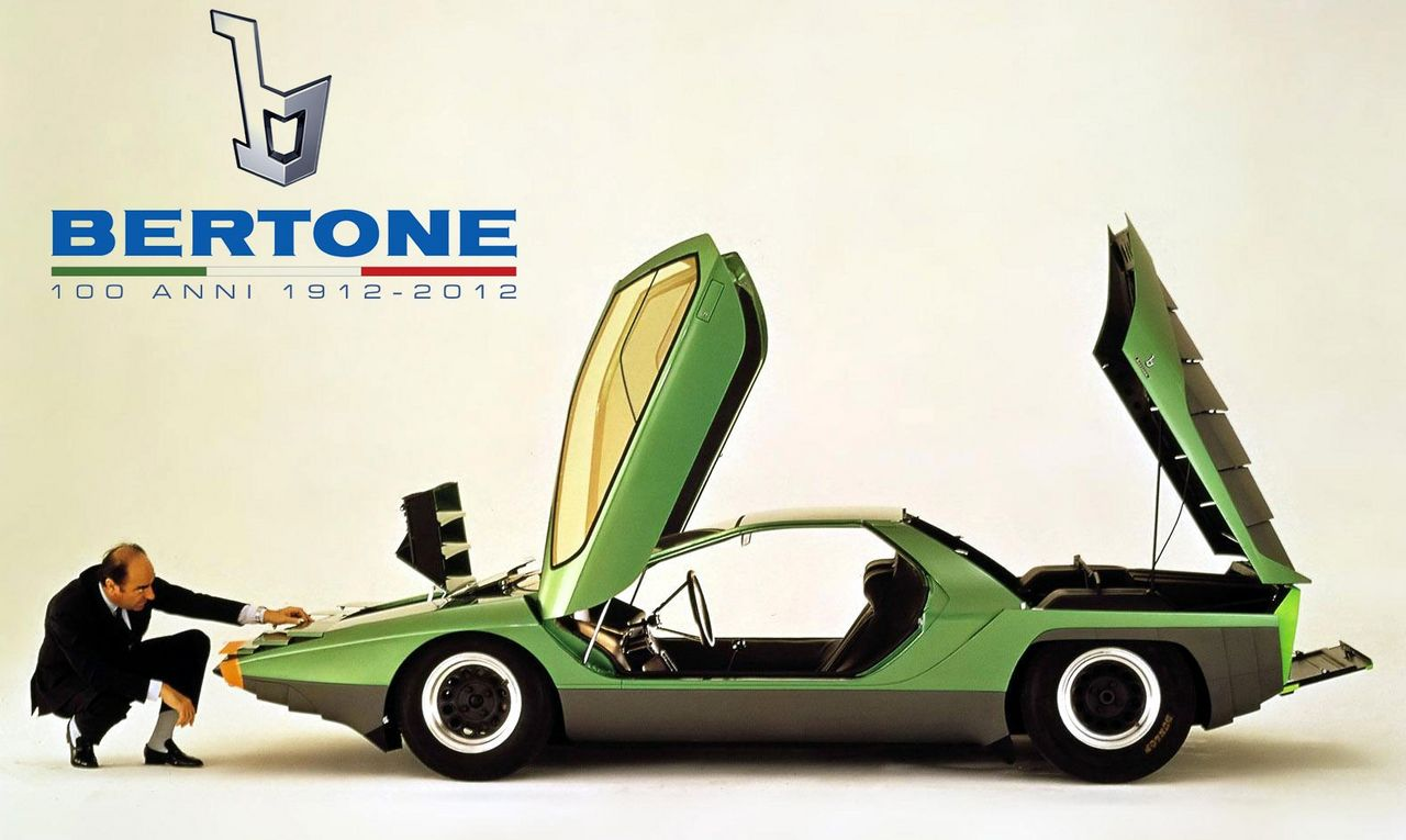 1912 2012 Bertone