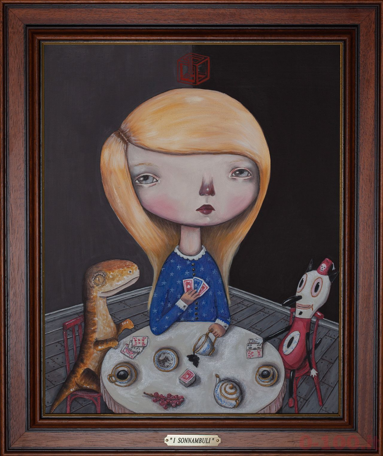 2013_Sabrina_Dan_I SONNAMBULI_oil on canvas_50x40_0-100