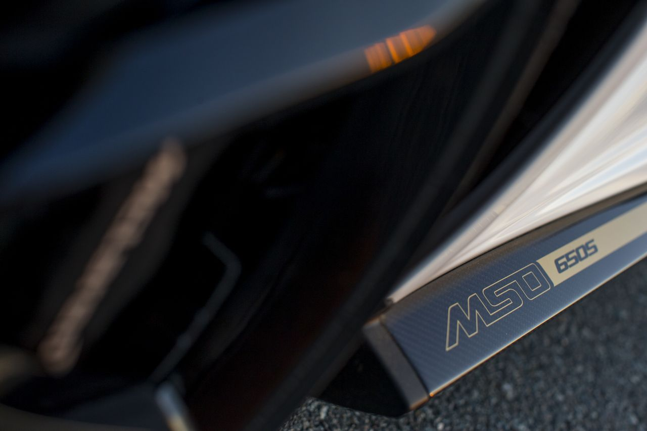 McLaren 650s Spider Al Sahara 79 by MSO detail 1