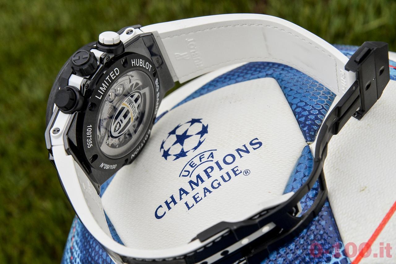 Presentazione orologio Hublot Juventus