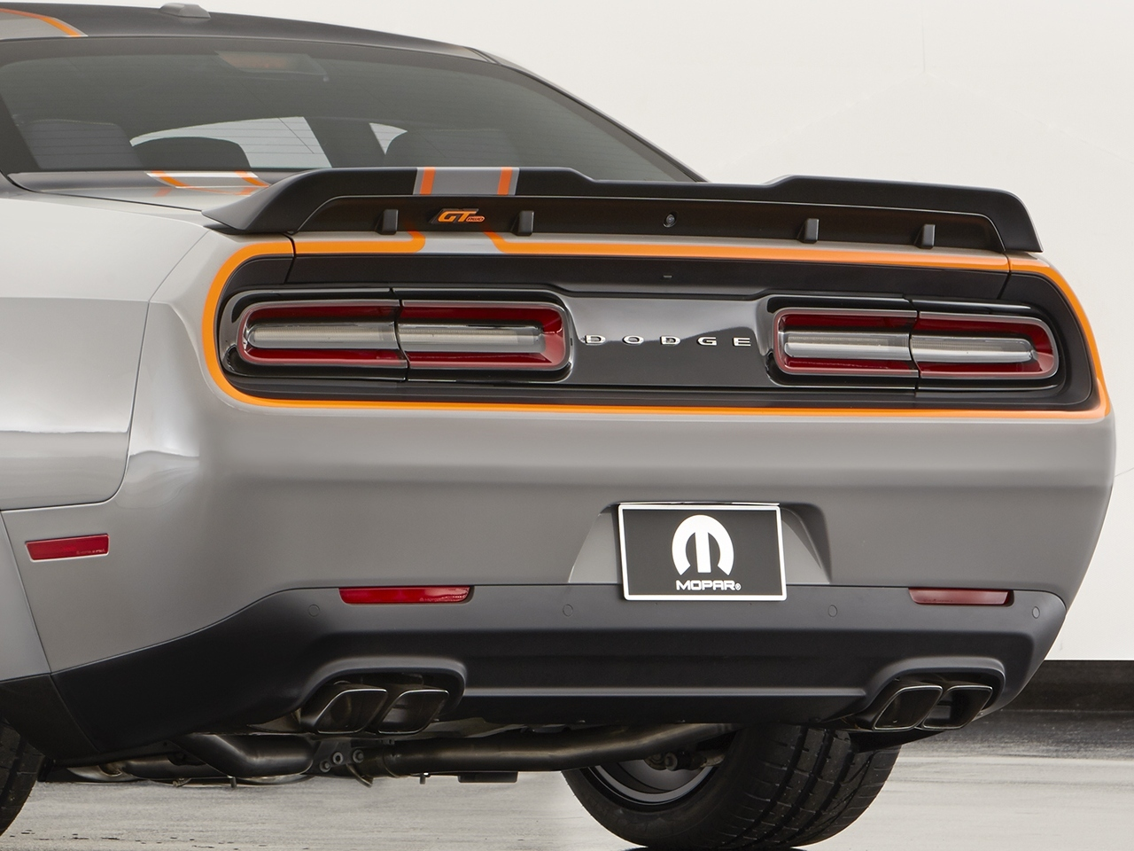 The Dodge Challenger GT AWD Concept is among the Mopar-modified