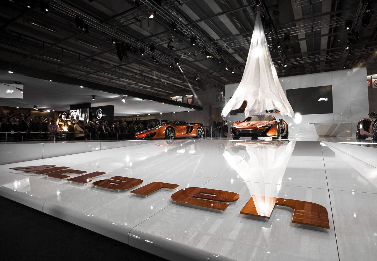 McLaren at Paris Motor show