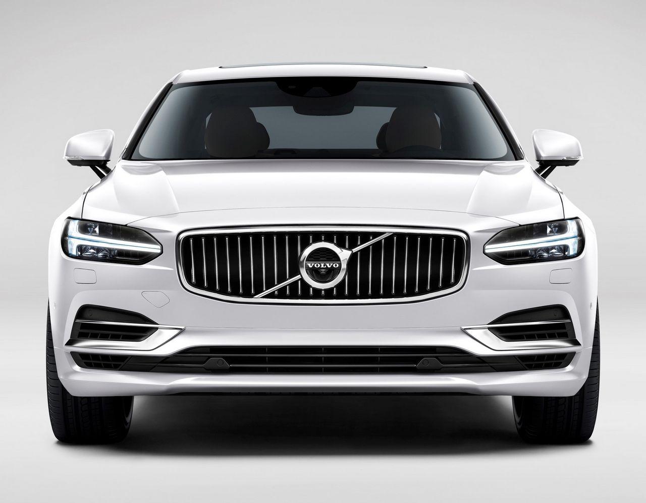 Front Volvo S90 White