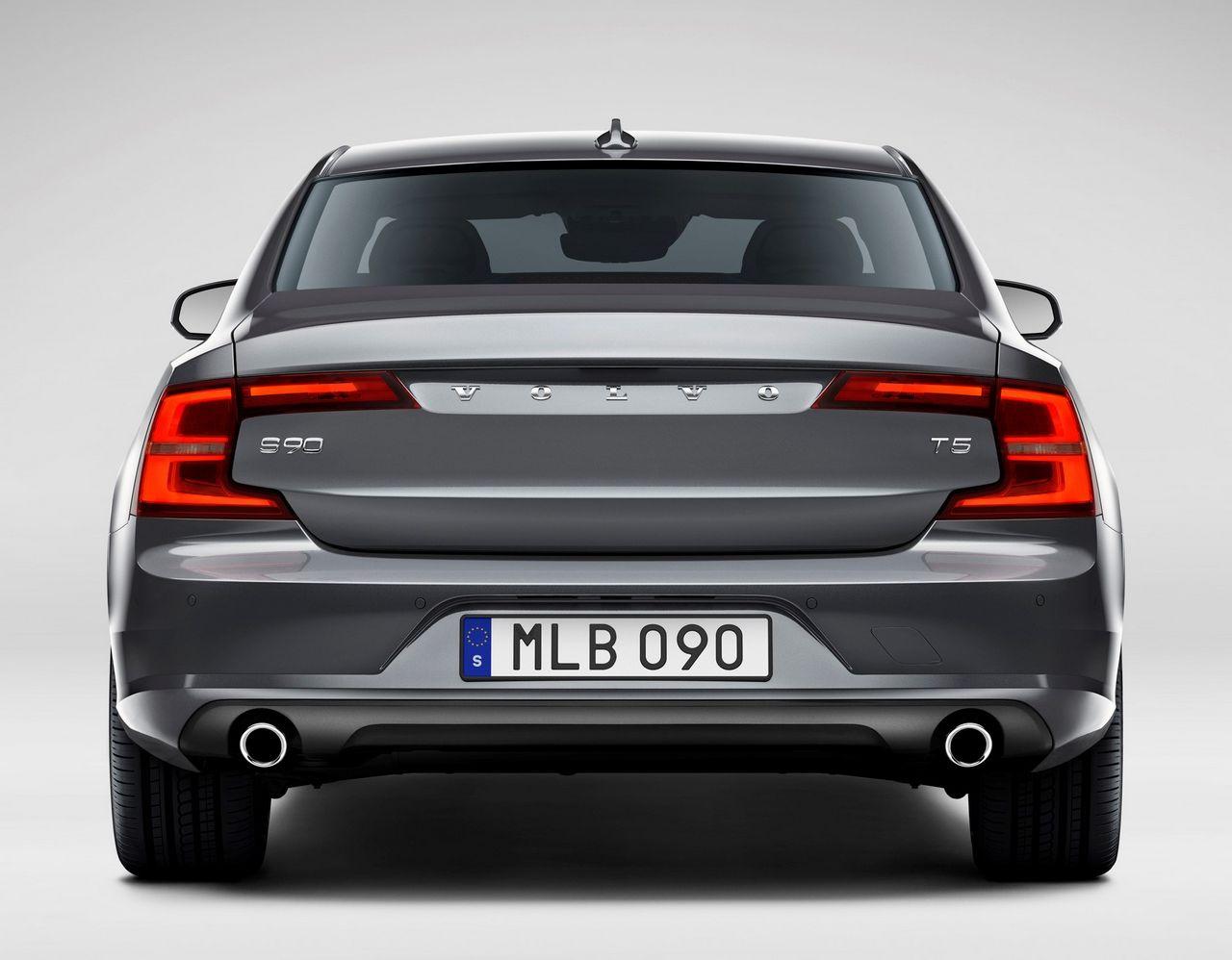 Rear Volvo S90 Osmium Grey