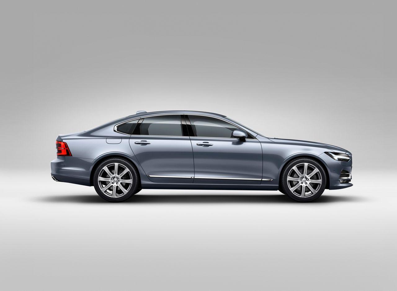 Profile Right Volvo S90 Mussel Blue