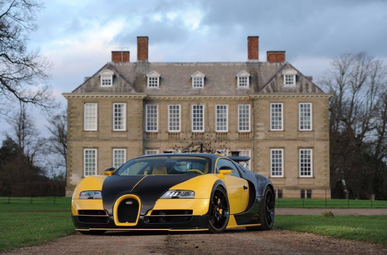 tuning  bugatti veyron by oakley design