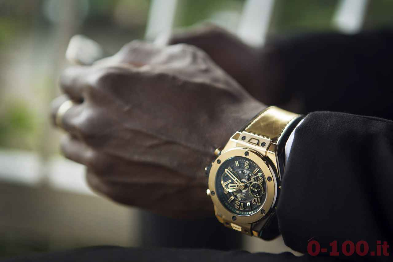 Hublot_Usain Bolt indossa il Big Bang Usain Bolt