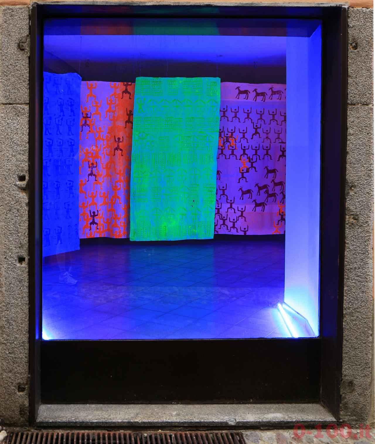 Contexto 2016 - Michela Pomaro, I cinque sensi, 2016 - tecnica mista su tela