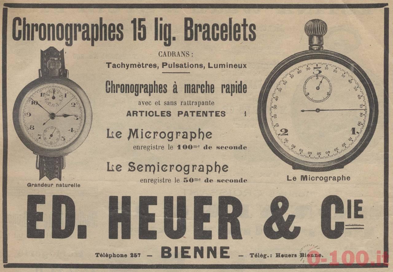 Heuer advertising campain, 1922
