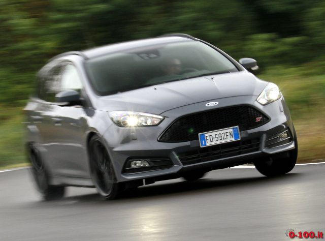 Test Drive Ford Focus St Tdci Station Wagon 0 100it