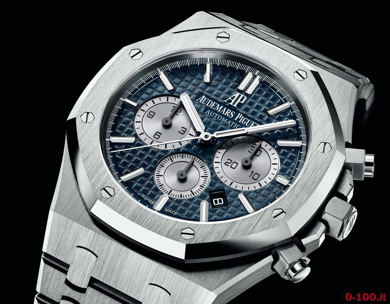 Sihh 2017 audemars piguet royal oak chronograph 0 for Pietro milano orologi