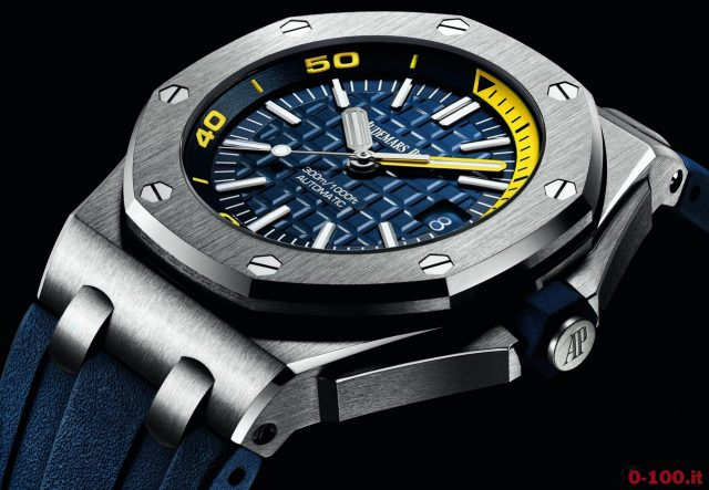 Audemars piguet royal oak offshore diver 0 for 6 salon in royal oak