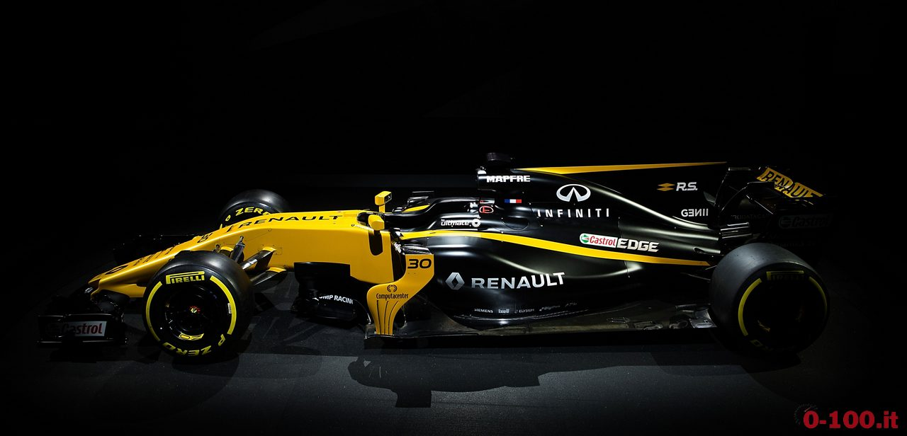 Motor Racing - Formula One Launch - Renault Sport Formula One Team R.S.17 Launch - London, England