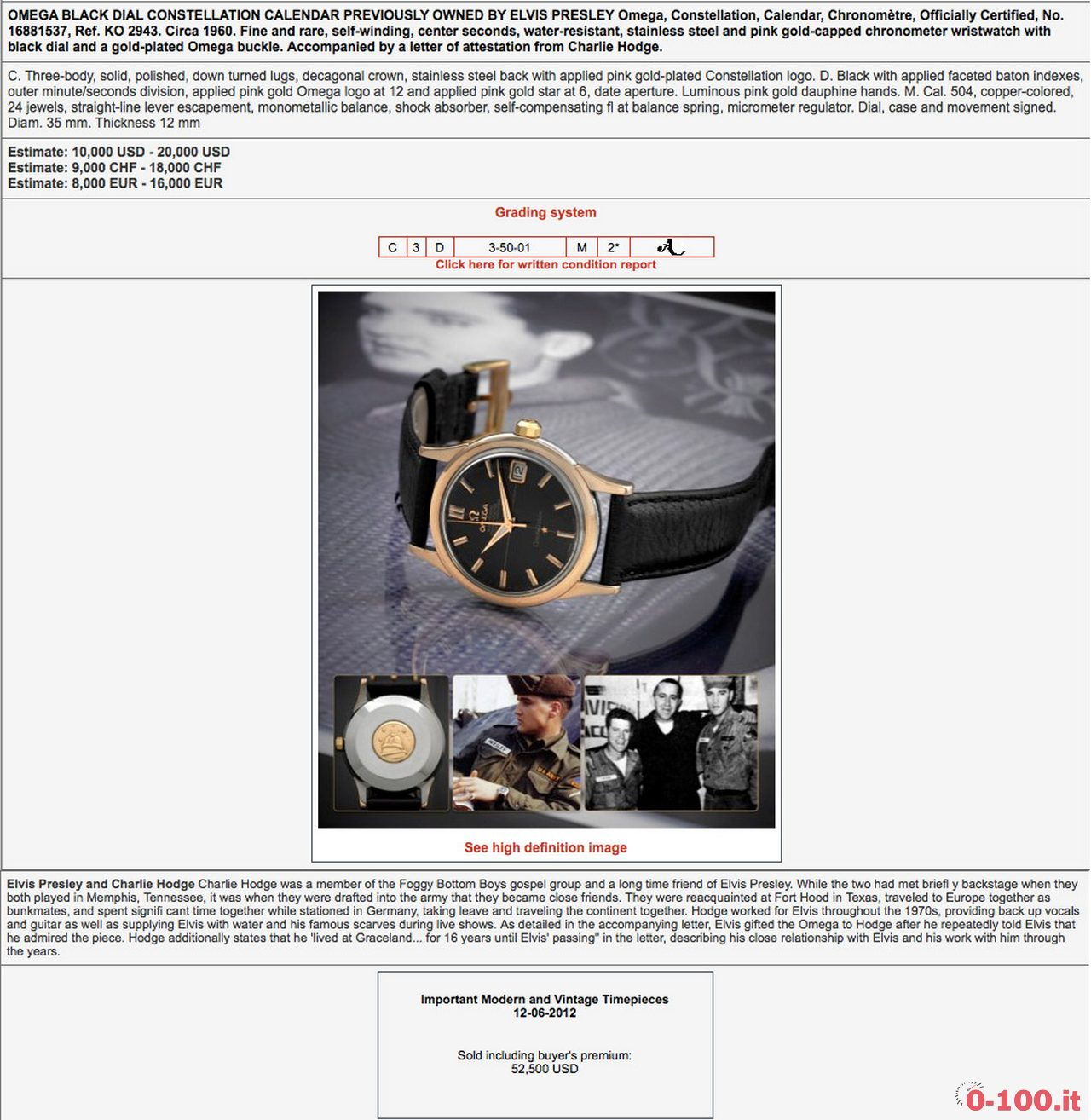 omega_constellation_elvis_presley_antiquorum_action