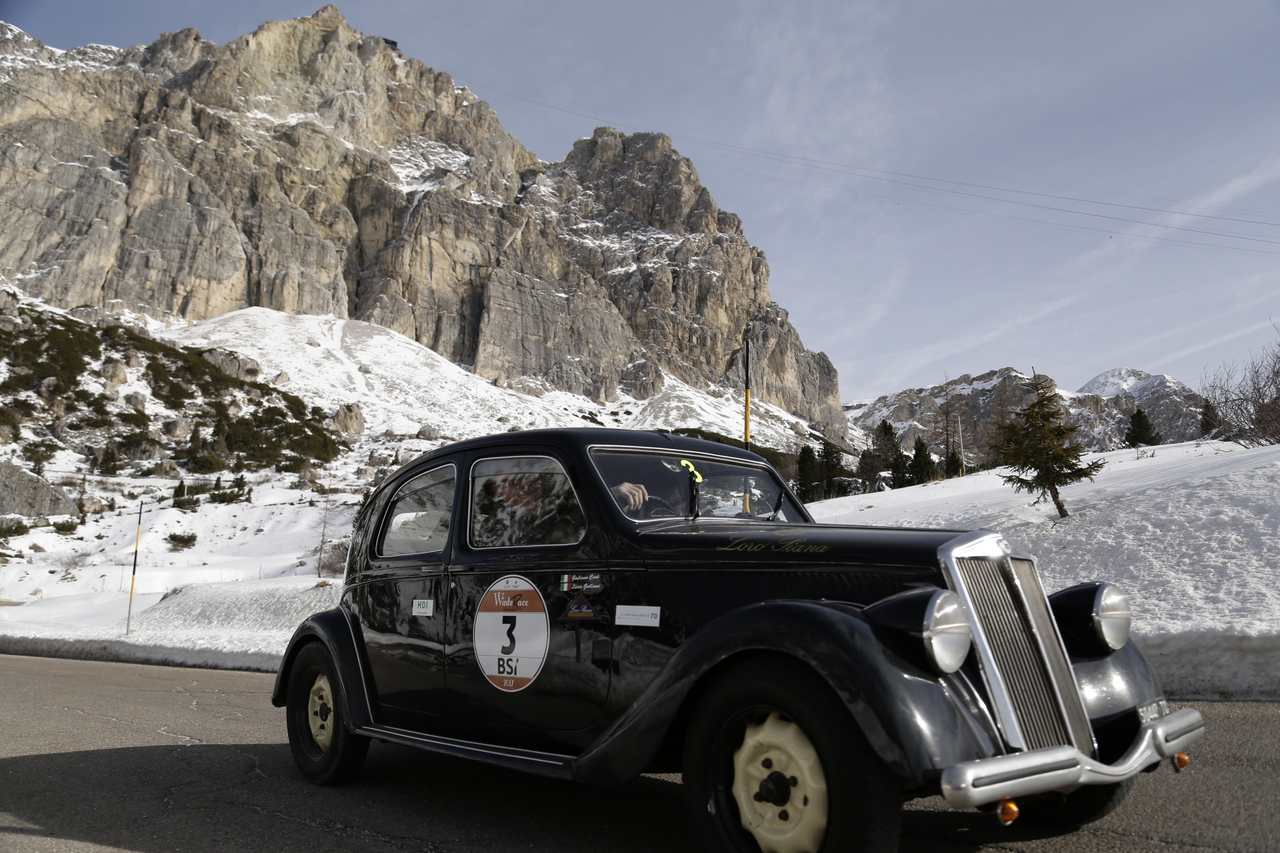 Winterrace_2017_Cané-Galliani su Lancia Aprilia del 1938