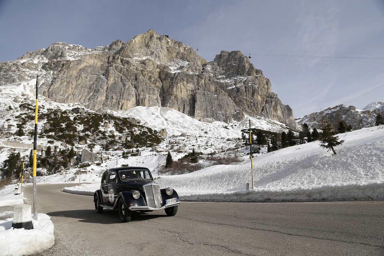 Winterrace_2017_Sisti-Gualandi su Lancia Aprilia del 1937