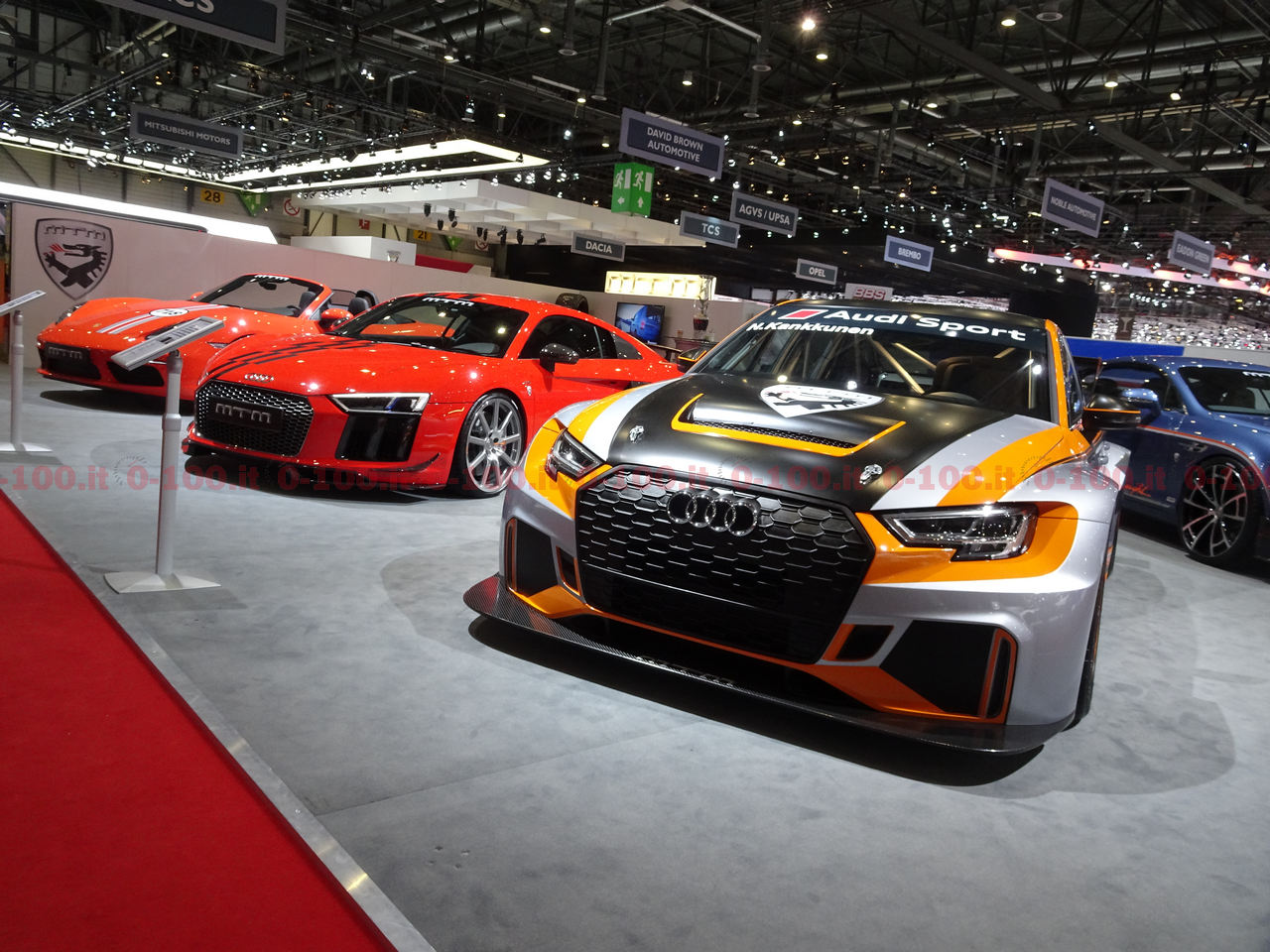SPECIALE Ginevra 2017 / TUNING: lo stand MTM