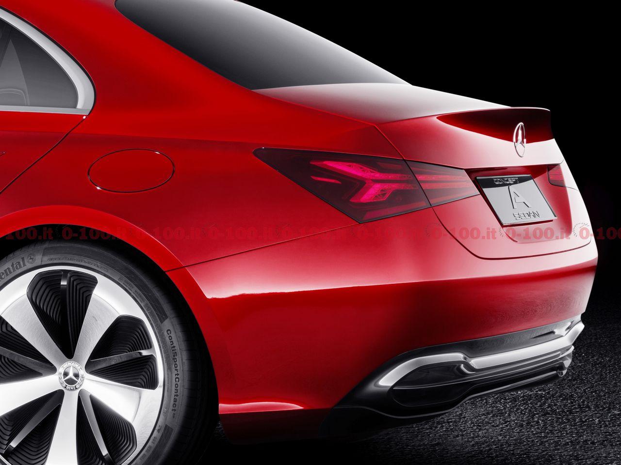 Mercedes-Benz Concept A Sedan: Vorbote einer neuen Generation