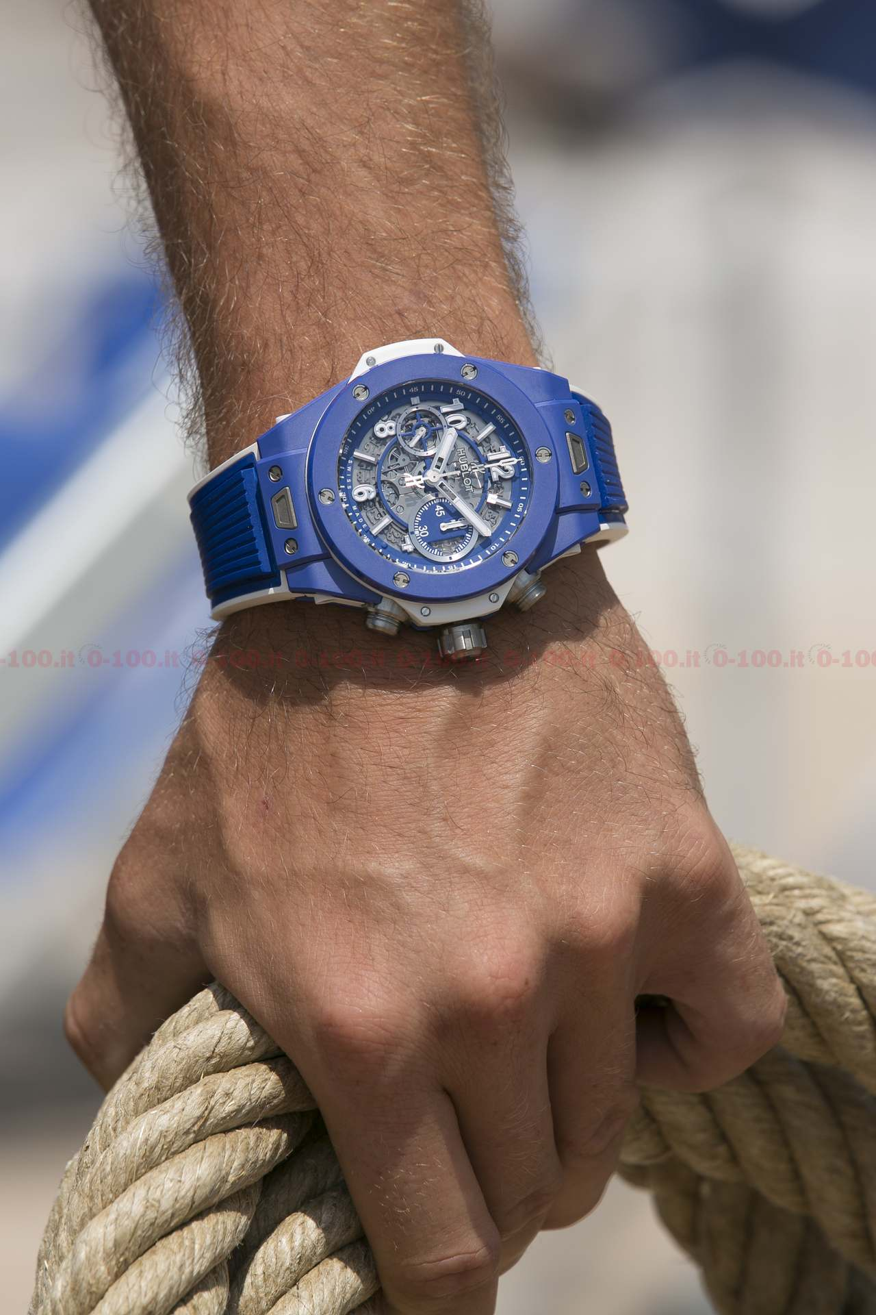Hublot Big Bang Blue Limited Edition Ref. 411.EX.5129.RX_0-10011