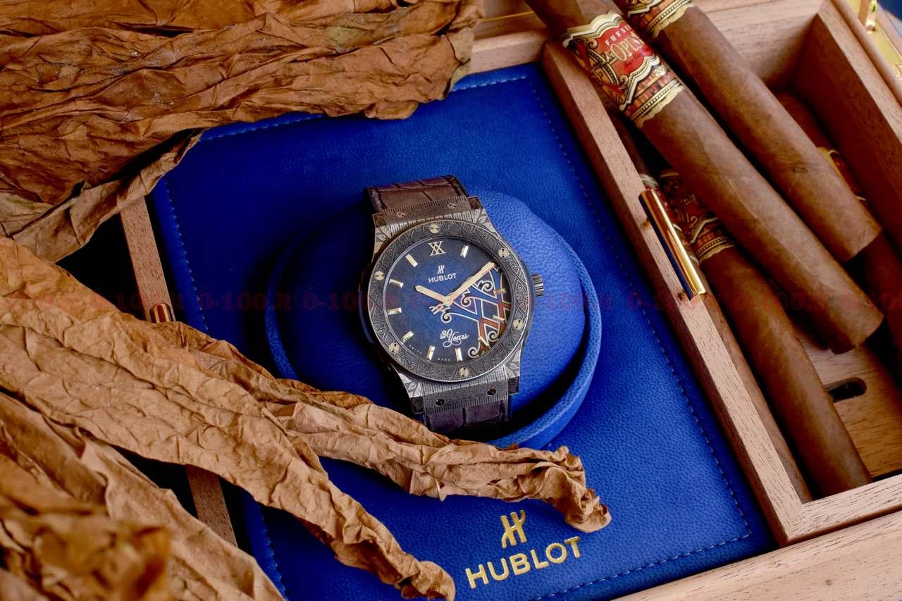 Hublot Classic Fusion 45 mm Fuente 20th Anniversary Special Edition_0-1002