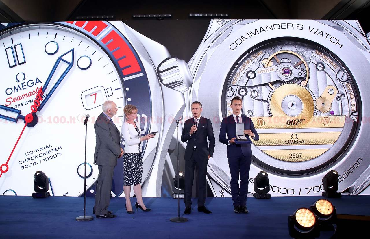 """Omega Seamaster Diver 300M """"Commander's Watch"""" Limited Edition_0-1001"""