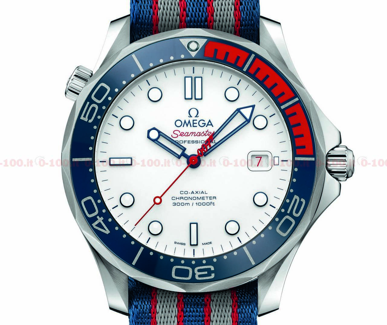 """Omega Seamaster Diver 300M """"Commander's Watch"""" Limited Edition_0-1004"""