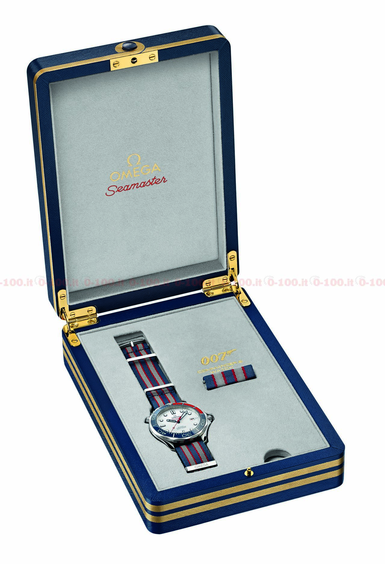 Omega Seamaster Diver 300M Commander's Watch Limited Edition