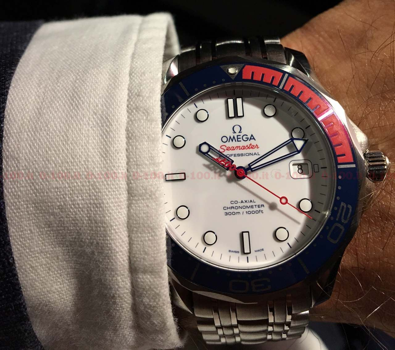 Omega Seamaster Diver 300M Commander's Watch Limited Edition_0-1001