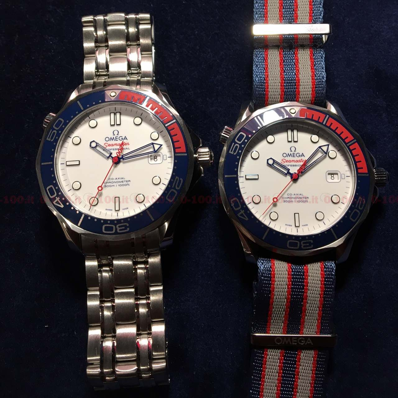Omega Seamaster Diver 300M Commander's Watch Limited Edition_0-1002