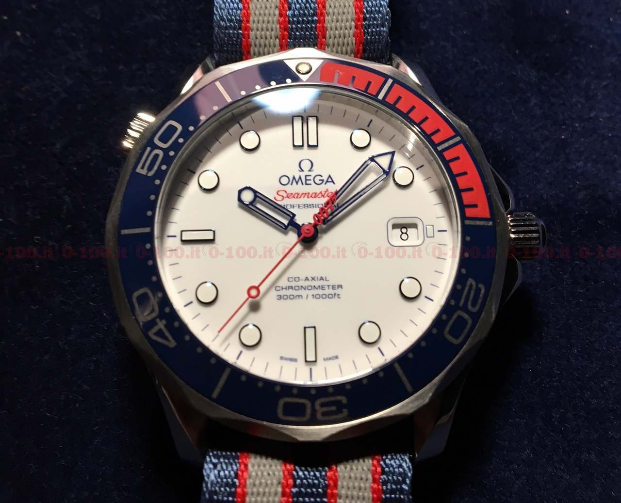 Omega Seamaster Diver 300M Commander's Watch Limited Edition_0-1003