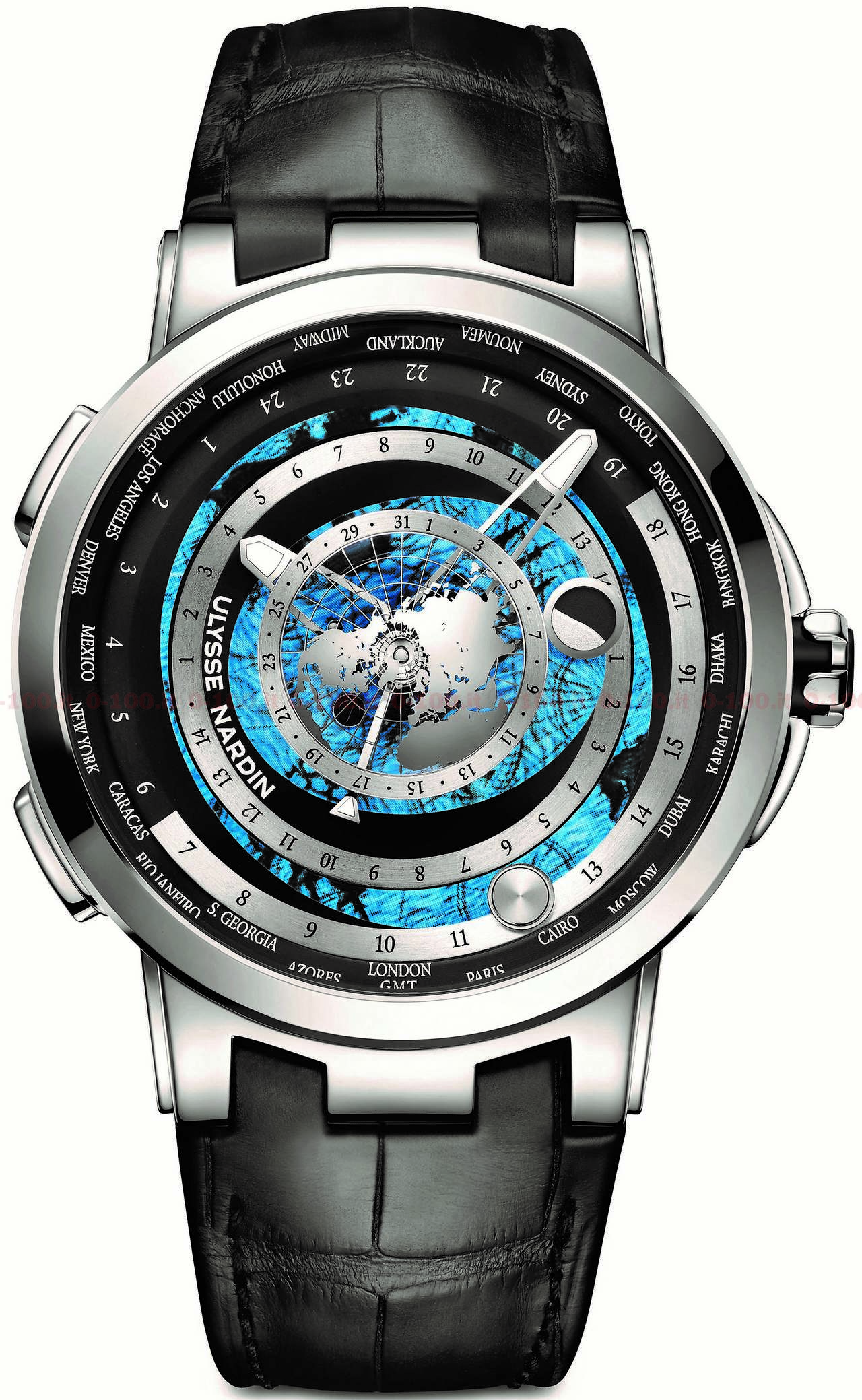 ulysse nardin moonstruck worldtimer limited edition ref 1069