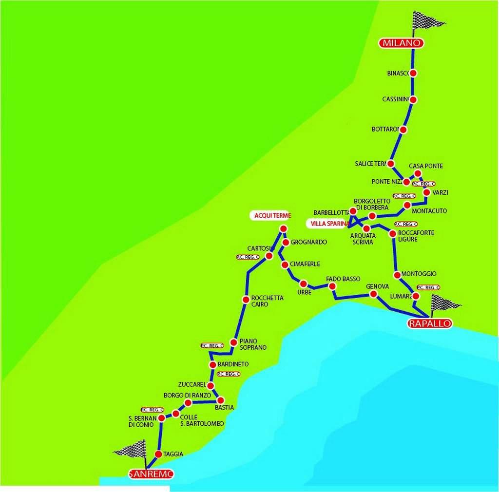 COPPA MILANO-SANREMO 2018_map_0-1001
