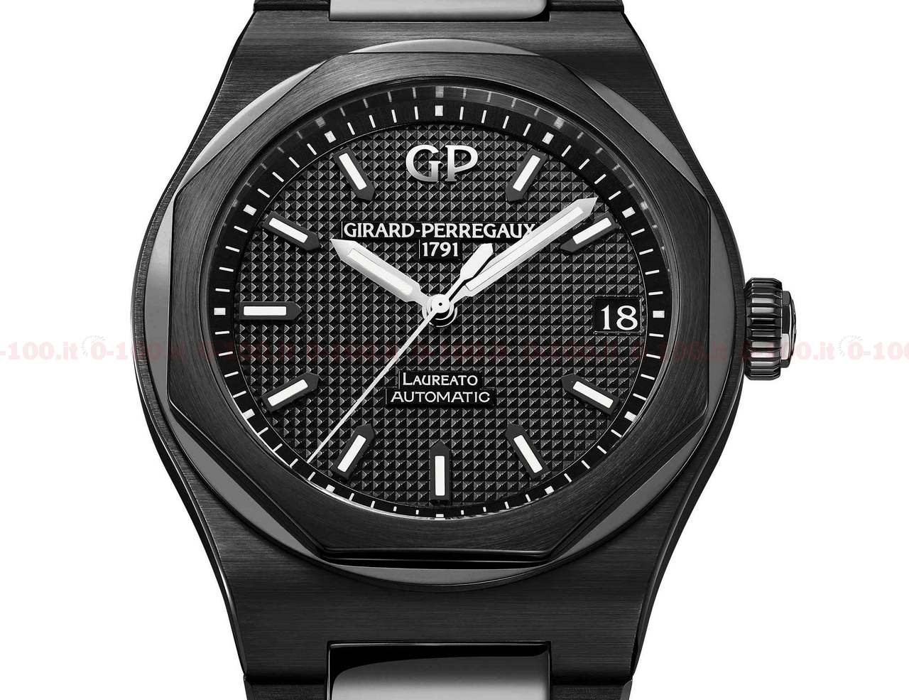 Girard-Perregaux Laureato 42 mm Ceramic Ref. 81010-32-631-32A_0-100_price_0-1004