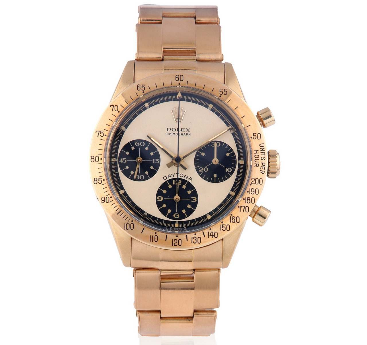 ROLEX DAYTONA PAUL NEWMAN 6239 18K GOLD BRITISH STAMP_source_bonhams_0-100