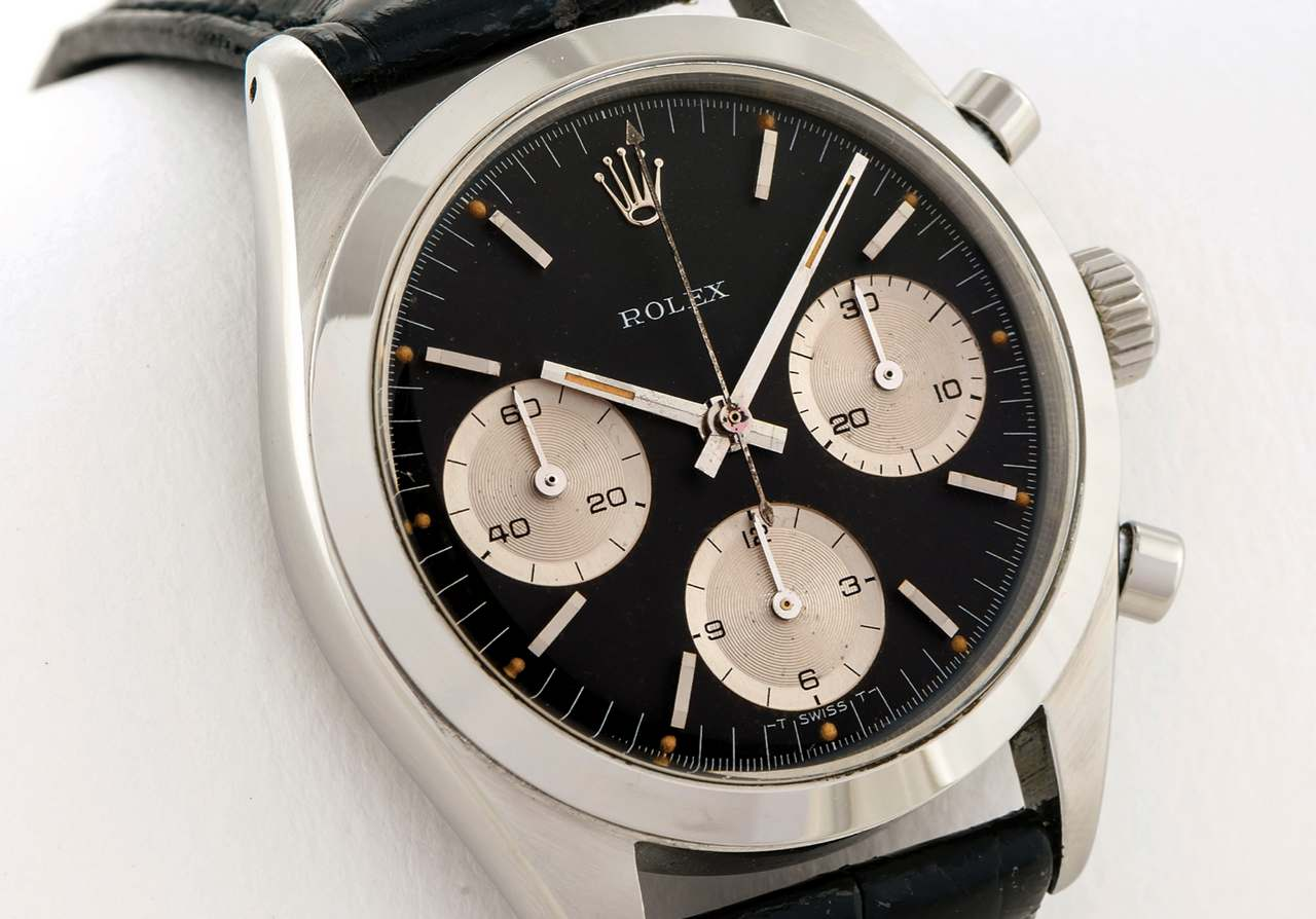 ROLEX REF 6238 SO CALLED -SOLO ROLEX- STEEL Rolex, case No. 1226687-_source_antiquorum