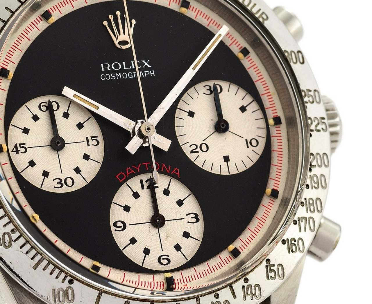 ROLEX REF. 6239 PAUL NEWMAN BLACK DIAL STEEL Rolex, Cosmograph Daytona,No. 1695116, Ref. 6239-source_antiquorum_1